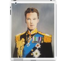 sir cumberbatch iPad Case/Skin