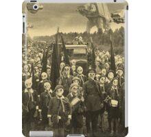 Gas Mask Island iPad Case/Skin