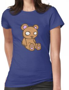 teddy bear ours peluche Womens Fitted T-Shirt