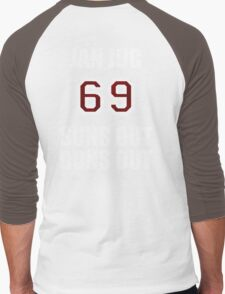 JanJuc Beach Adventure Men's Baseball ¾ T-Shirt