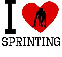 I Heart Sprinting by kwg2200