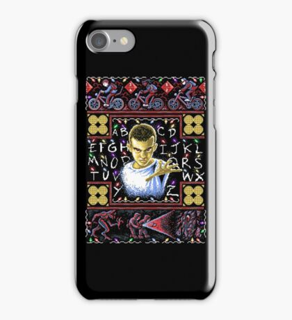 Eleven Ugly Sweater 8-Bit iPhone Case/Skin