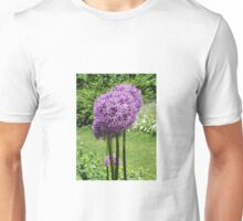 Purple Poms Unisex T-Shirt