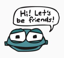 Hi! Let's be friends! Kids Tee