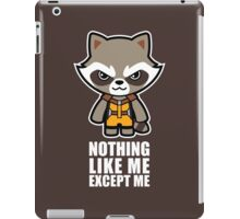 Talking Raccoon iPad Case/Skin