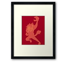 Litten Evolutions Framed Print