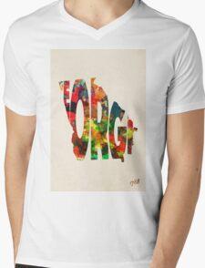 Georgia Typographic Watercolor Map T-Shirt