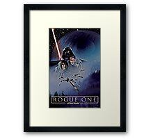 Rogue One- A Star Wars story Framed Print