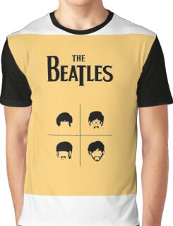 beatles 3 Graphic T-Shirt