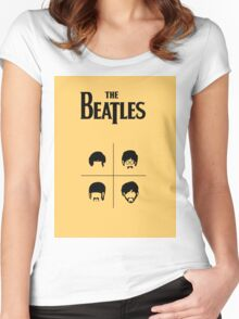 beatles 3 Women's Fitted Scoop T-Shirt
