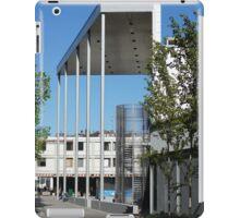 modern urban architecture iPad Case/Skin