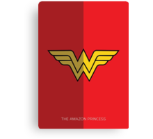 Wonder Woman Canvas Print