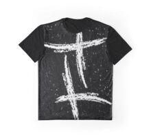 Gemini Star Sign Graphic T-Shirt