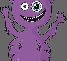 Cute Monster by DjenDesign