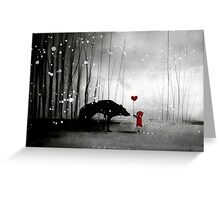 Little Red Riding Hood ~ I love You  Greeting Card