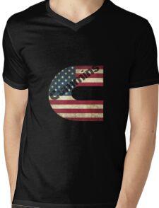 Cummins Mens V-Neck T-Shirt