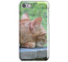 Garfield Resting iPhone Case/Skin