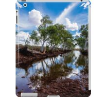 Water hole in the Pilbara iPad Case/Skin