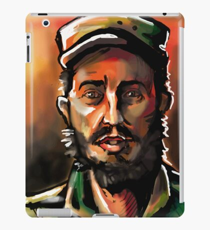 Brush Paint Fidel iPad Case/Skin