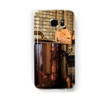 copper Saucepan on the stove Samsung Galaxy Case/Skin