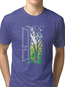 The Grass Is Greenerans Tri-blend T-Shirt