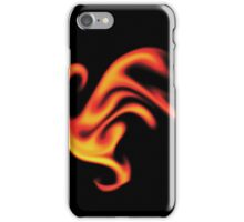 Fire Phoenix Abstract iPhone Case/Skin