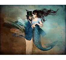 A Mermaids Love Photographic Print