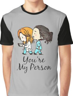 Grey's Anatomy - You Are My Person Graphic T-Shirt