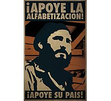 Fidel Water Pain Photographic Print