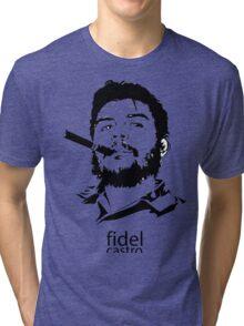fidel castro cigars Tri-blend T-Shirt