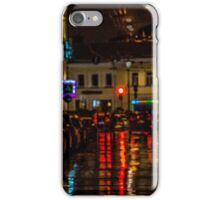 Night time in Moscow iPhone Case/Skin