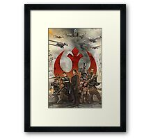 Rogue One. Framed Print