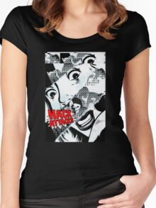 Hack Attack Women's Fitted Scoop T-Shirt