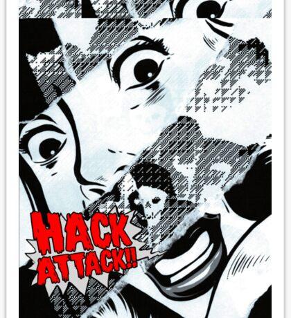 Hack Attack Sticker