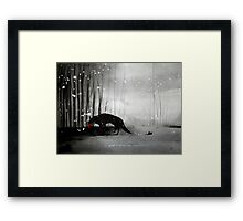 Little Red Riding Hood - A Tragedy  Framed Print