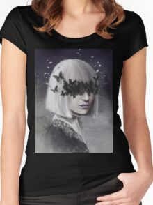Sia 3 Women's Fitted Scoop T-Shirt