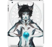Thoughts Got My Fire Burning iPad Case/Skin
