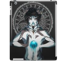 Thoughts Got My Fire Burning Background iPad Case/Skin