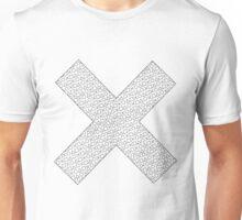X Black Unisex T-Shirt