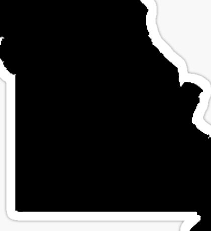 Missouri Black Sticker