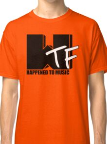 WTF Happened To Music Solid Classic T-Shirt
