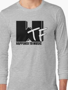 WTF Happened To Music Solid Long Sleeve T-Shirt
