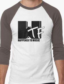 WTF Happened To Music Solid Men's Baseball ¾ T-Shirt