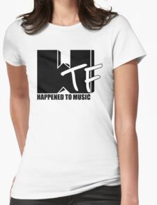 WTF Happened To Music Solid Womens Fitted T-Shirt
