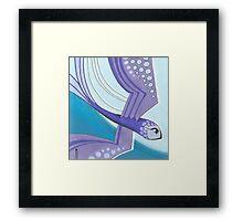 sky surfing Framed Print
