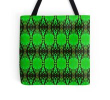 Green Silhouette (VN.421) Tote Bag