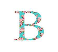 Beta Rose Letter Photographic Print