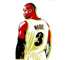 WADE Stencil Design Photographic Print