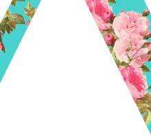 Delta Rose Letter Sticker
