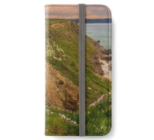 Widemouth Bay, Cornwall, England. iPhone Wallet/Case/Skin